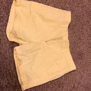 Gap yellow shorts